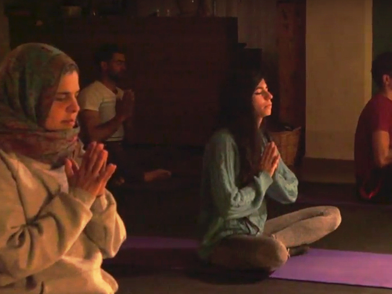 Shadana Yoga in Palestine
