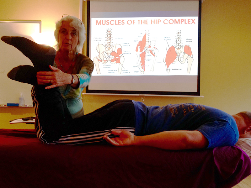 Yoga and hip mobility
