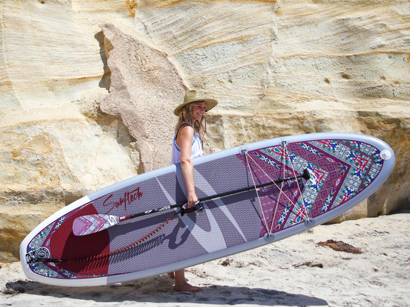 Surftech x BLOOM stand-up paddleboard
